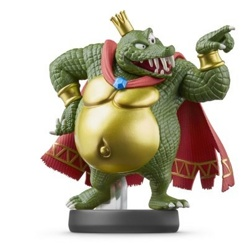 Фигурка amiibo Кинг К. Роль (коллекция Super Smash Bros.)
