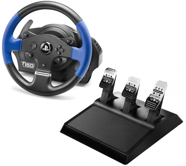Руль Thrustmaster T150 PRO Force Feedback (PS4/PS3/PC)