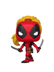 Фигурка Funko POP! Bobble: Marvel: Marvel 80th: Lady Deadpool (Exc)