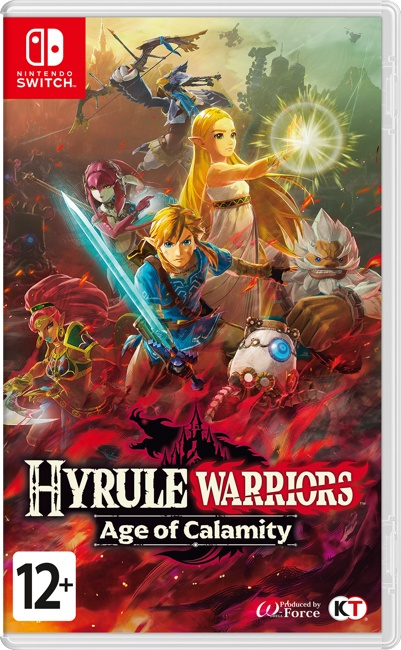 Hyrule Warriors Age of Calamity (Switch) Предзаказ