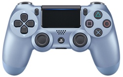 Геймпад DualShock 4 Wireless Controller Titanium Blue (PS4)