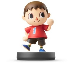 Фигурка amiibo Житель (коллекция Super Smash Bros.)