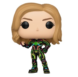 Фигурка Funko POP! Bobble: Marvel: Captain Marvel: Captain Marvel w/Neon Suit