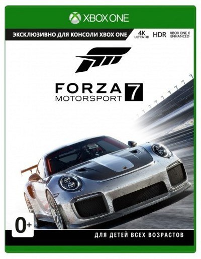 купить Forza Motorsport 7: Standard Edition (Xbox One) Польская обложка в Минске Беларусь доставка