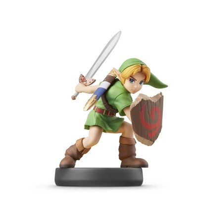 Фигурка amiibo Юный Линк (коллекция Super Smash Bros.)