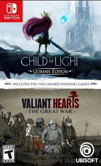 купить Child of Light + Valiant Hearts. The Great War (Switch) в Минске Беларусь доставка