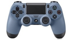 Геймпад DualShock 4 Wireless Controller Grey Blue (PS4)