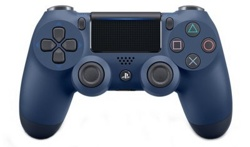 Геймпад DualShock 4 Wireless Controller Midnight Blue V2 (PS4)