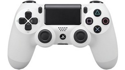 Геймпад DualShock 4 Wireless Controller Glacier White V2 (PS4)