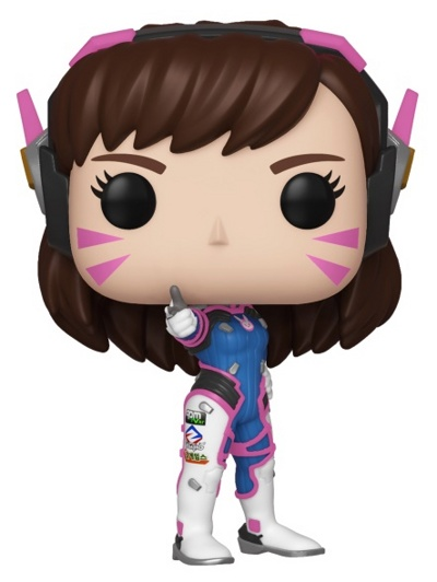 Фигурка Funko POP! Vinyl: Games: Overwatch S5: D.Va