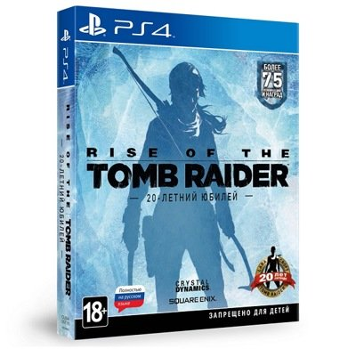������ Rise of the Tomb Raider: 20-������ ������ (PS4) � ������ �������� ��������