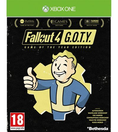 купить Fallout 4. Game of the Year Edition (Xbox One) в Минске Беларусь доставка