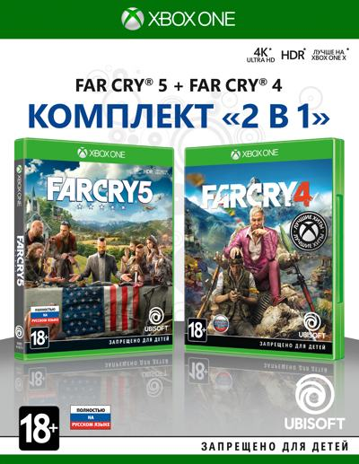 Комплект Far Cry 4 + Far Cry 5 (Xbox One)
