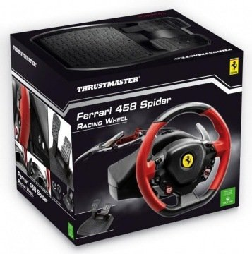 Руль Thrustmaster Ferrari 458 Spider Racing Wheel (Xbox One)