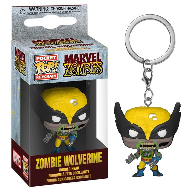 Брелок Funko Pocket POP! Marvel Zombies: Wolverine