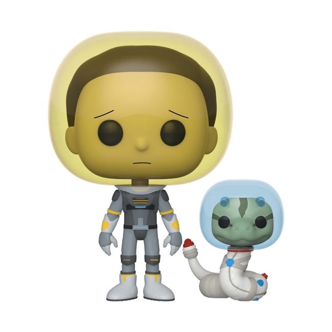 Фигурка Funko POP! Vinyl: Rick & Morty: Space Suit Morty w/S