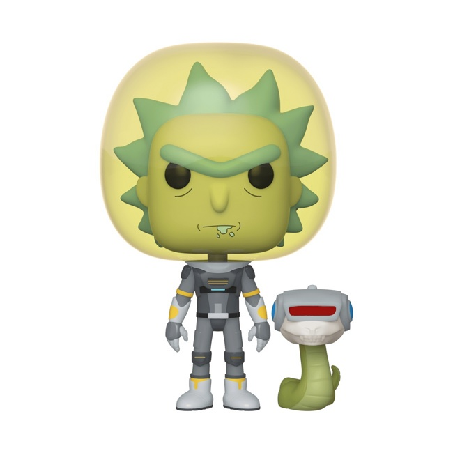 Фигурка Funko POP! Vinyl: Rick & Morty: Space Suit Rick w/Sn