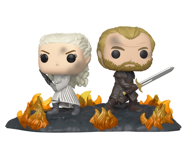 Фигурка Funko POP! Vinyl: Movie Moment: Game of Thrones: Daenerys & Jorah B2B w/Swords