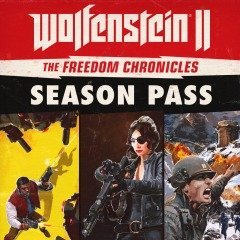 Карта цифрового кода Wolfenstein II: The Freedom Chronicles - Season Pass (PS4)