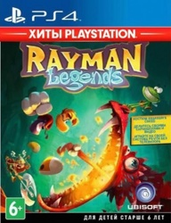 Rayman Legends (Хиты PlayStation)(PS4)
