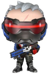 Фигурка Funko POP! Vinyl: Games: Overwatch: Soldier 76 (Exc)
