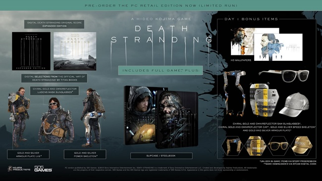 Death Stranding  Издание первого дня SteelBook Edition (PC)