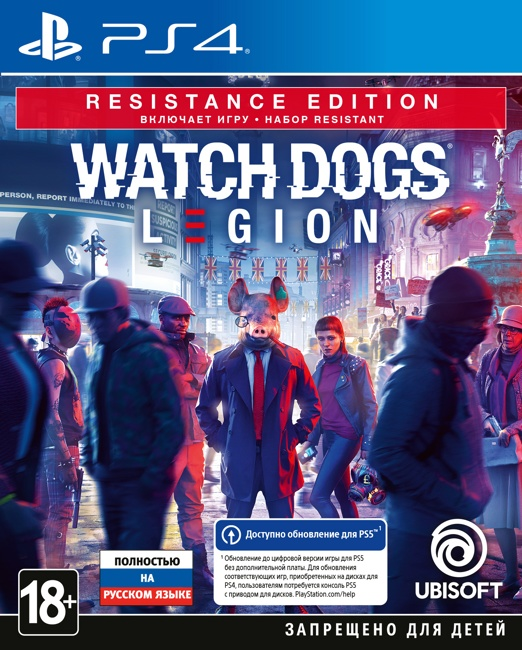 Watch_Dogs: Legion. Resistance Edition (PS4)