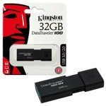 Флэш накопитель Kingston 32Gb Data Traveler 100 G3 USB3.0