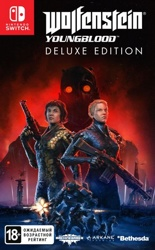 Wolfenstein: Youngblood. Deluxe Edition. Код загрузки, без картриджа (Switch)