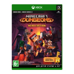 Minecraft Dungeons Hero Edition (Xbox One) Предзаказ