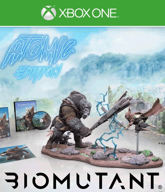 Biomutant Atomic Edition (Xbox One) Предзаказ